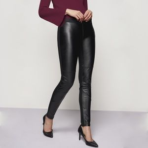 NWT Karl Lagerfeld Faux Leather Moto Pants